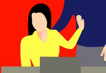 Non au harcèlement sexuel des femmes dans le milieu professionnel